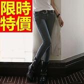 女款牛仔褲保暖加絨-伸縮修身顯瘦微彈力女長褲子63e43[巴黎精品]