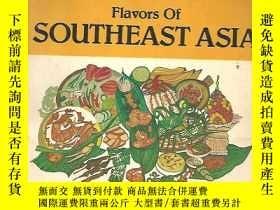 二手書博民逛書店flavors罕見of southeast a sia 東南亞洲