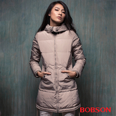 BOBSON 女款長版羽絨外套 (35110-71)
