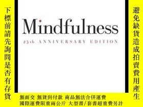 二手書博民逛書店正念練習罕見Mindfulness 專念:積極心理學的力量Y21