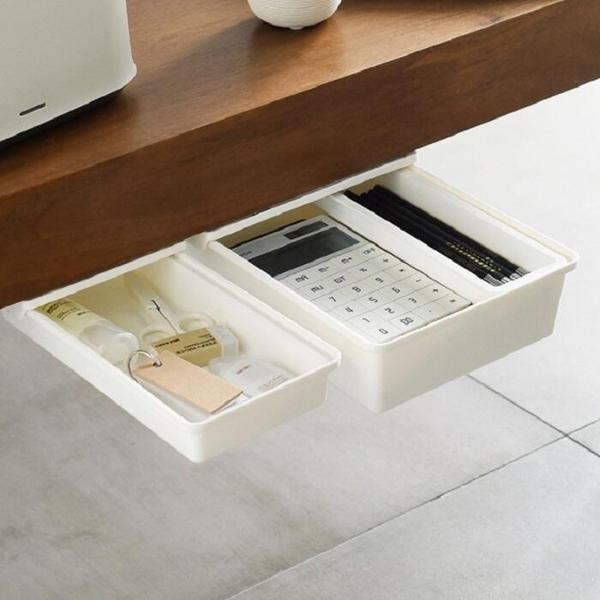 小號 隱藏桌下抽屜【NT152】免打孔 桌底抽屜 隱藏收納盒 桌下抽屜 隱藏式抽屜