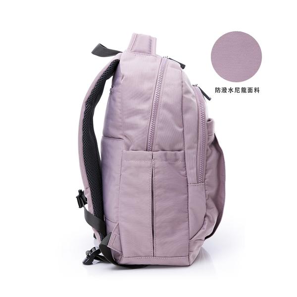金安德森 輕甜旅程 中性簡約後背包-紫色