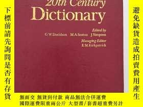 二手書博民逛書店錢伯斯簡明二十世紀英語詞典:Chambers罕見Concise