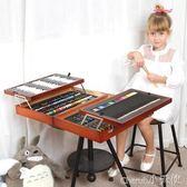 繪畫用品 兒童畫筆文具套裝男孩女孩繪畫學習用品文具 igo【小天使】