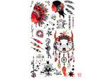 薇嘉雅 印第安 紋身貼紙 HM871