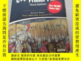 二手書博民逛書店【英文原版】The罕見Waite Group s C Primer Plus third edition(3rd)