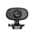 iSHOT CCD 遠端視訊網路攝影機 免驅動 內建指向麥克風 視訊會議 直播觀賞 遠距教學