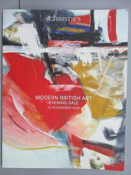 【書寶二手書T4/收藏_QBL】Christie s_Modern British Art-Evening Sale_2