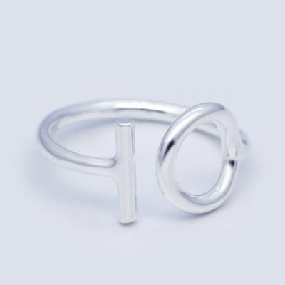 戒指 925純銀-圖型設計生日情人節禮物女開口戒73dt718【時尚巴黎】