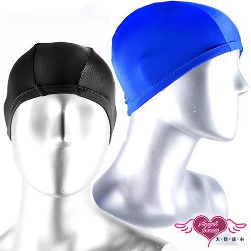 泳帽 黑/紅/藍/粉 素色素面彈性泳帽 比基尼泳衣泳裝游泳溫泉SPA泡湯配件 天使甜心Angel Honey