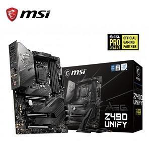 【綠蔭-免運】微星MSI MEG Z490 UNIFY Intel 主機板