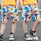 兒童沙灘褲男童短褲寶寶外穿五分褲薄款速干褲【奇趣小屋】