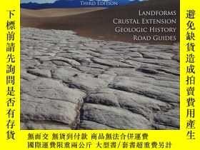 二手書博民逛書店Geology罕見of Death Valley: Landforms, Crustal Extension, G