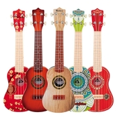 烏克麗麗初學者兒童吉他玩具可彈奏仿真音樂男孩女孩寶寶21寸樂器WY【快速出貨】