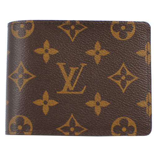 茱麗葉精品 全新名牌 Louis Vuitton LV M60895 Monagram經典花紋折疊短夾(預購)