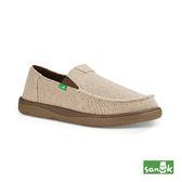 SANUK 舒適帆布休閒鞋-男款1018983 NAT(米色)