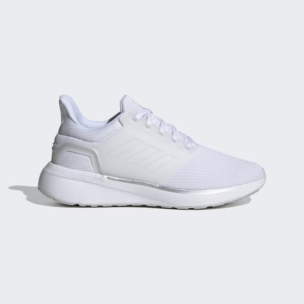 Adidas Eq19 Run [H68092] 女鞋 慢跑鞋 運動 休閒 輕量 舒適 支撐 緩衝 彈力 愛迪達 白 銀