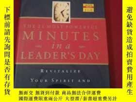 二手書博民逛書店The罕見21 Most Powerful Minutes In A Leaders Day: Revitaliz