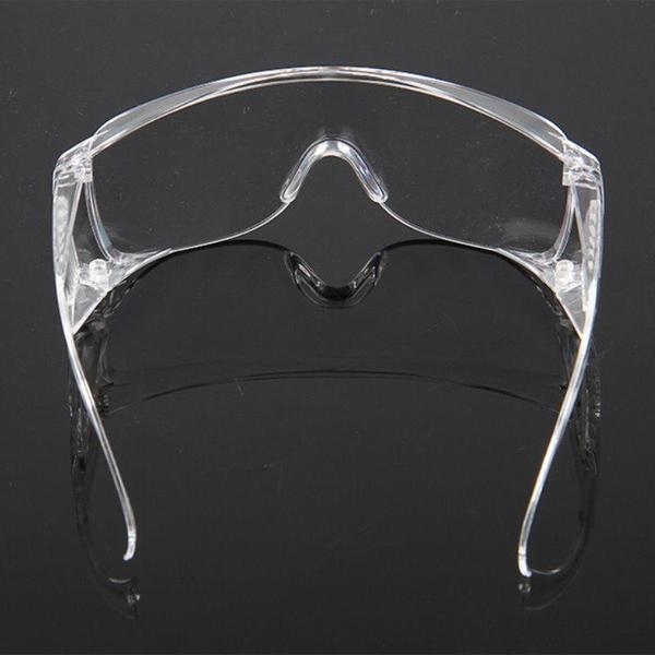 【DH218】透明護目鏡 安全防護鏡(台灣製造檢驗合格)安全眼鏡 防風沙 防疫 防塵 抗UV EZGO商城