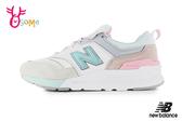 New Balance 997H 成人女款 限量時尚運動鞋 慢跑鞋 O8571#綠粉◆OSOME奧森鞋業