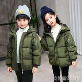 冬季潮流棉襖男童女童棉衣加厚新款熱銷韓版中大童兒童羽絨服外套 免運