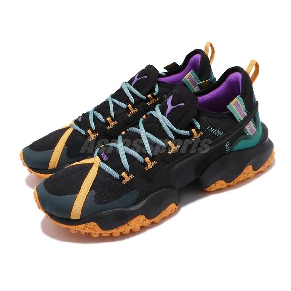Puma 慢跑鞋 Erupt TRL 黑 綠 男鞋 女鞋 運動鞋 越野 【PUMP306】 19315101