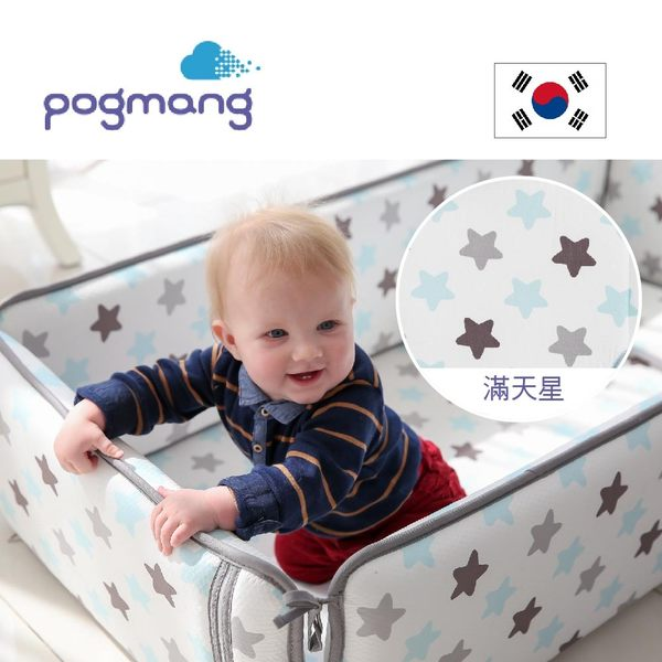 韓國pogmang 3D立體床圍透氣墊(1.5cm厚)-滿天星 I-PGBBS-008