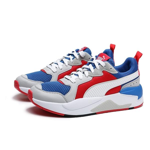 PUMA X RAY 紅白藍 皮革 網布 復古 休閒鞋 情侶 男女 (布魯克林) 37260204