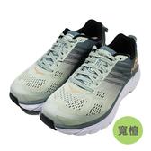 (B3) Hoka One One 女 Clifton 6 超緩震慢跑鞋 寬楦 運動鞋 HO1102877LSF 鉛灰 [陽光樂活]