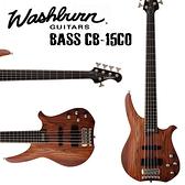 【非凡樂器】Washburn BASS 五弦電貝斯/絕版商品/好評發售/來電試琴【CB-15 CO】