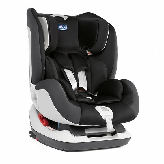 Chicco Seat up 012 Isofix 安全汽座-搖滾黑 贈汽座保護墊