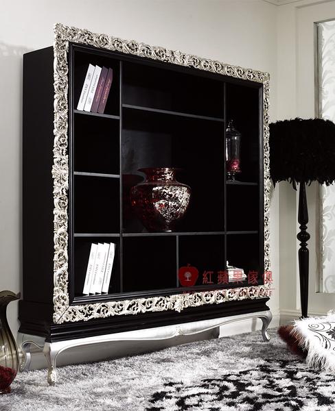 [紅蘋果傢俱] YL-9034 依萊系列 新古典 歐式 法式 廳櫃 裝飾櫃 收納櫃 造型櫃 工廠直營