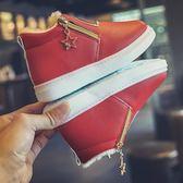 兒童雪地靴子女童短靴2019冬季新款寶寶男童鞋棉靴加絨冬鞋二棉鞋