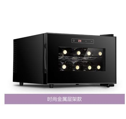 vnice威尼斯8支裝電子紅酒櫃恒溫酒櫃冷藏櫃茶葉家用冰 【特惠】 LX