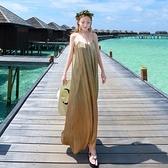 波希米亞長裙-時尚優雅性感露背洋裝73sg67【巴黎精品】