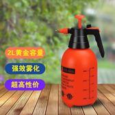 鎖扣式小型手動氣壓式2L噴壺園藝工具澆花【聚寶屋】