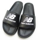 New Balance 韓國海綿運動拖鞋 公司貨 SD1101HBB 男款 黑【iSport愛運動】