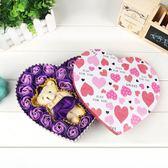 結婚紀念日創意玫瑰花禮盒花束生日禮物女生實用送女友女朋友老婆【免運直出】