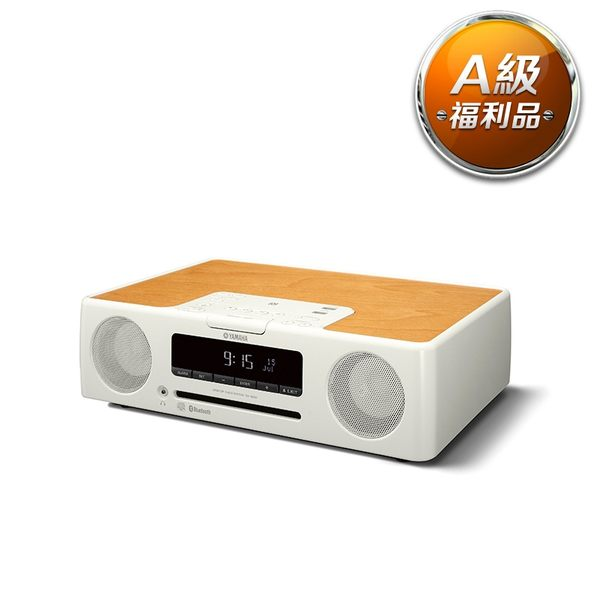 【A級福利品】Yamaha TSX-B235 桌上型音響-白 (箱內包材短缺,另用防撞材料包裝)