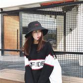 M13春夏季雙面可用遮陽帽可折疊攜帶女士太陽帽雙面布帽防曬帽NE-E310-B韓依戀