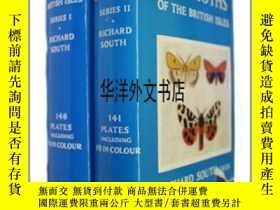 二手書博民逛書店【罕見】The Moths of the British IslesY226683 South, R Warn