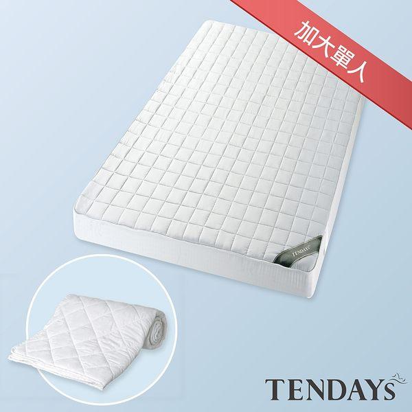 TENDAYs 備長炭床包型保潔墊床包套(3.5尺大單兒童床用)