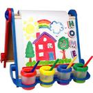 【美國ALEX】折疊式兒童專用畫架/折疊式桌上畫架(超值組)