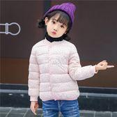 秋冬兒童童裝羽絨棉服短款小孩棉襖中小童女童寶寶羽絨棉內膽