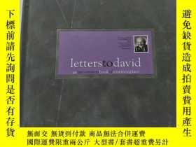 二手書博民逛書店letters罕見to david an uncommon bo