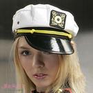 D084 角色扮演白色水手帽海軍帽