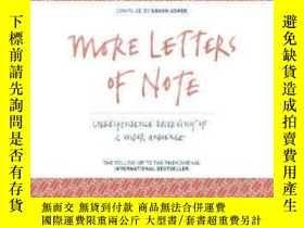 二手書博民逛書店More罕見Letters Of NoteY364682 Shaun Usher Canongate Unbo