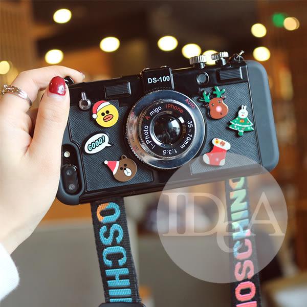 iPhone 6S/6S Plus 相機卡通造形手機殼 保護殼 軟殼 硬殼 廣角 自拍 照片手機殼 熊 小鴨