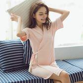 浴袍 公主純棉睡裙日系甜美和服少女睡袍薄JK236『樂愛居家館』