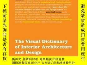 二手書博民逛書店The罕見Visual Dictionary Of Interi